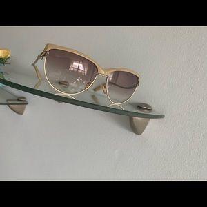 Cat Eye Sunglasses - Nude UV